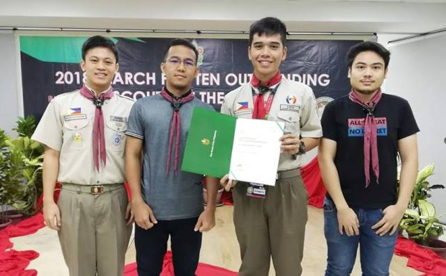 Congratulations to Sct. Allen Dave Mecarandayo Capa for being one of the 2018 TEN OUTSTANDING BOY SCOUTS OF THE PHILIPPINES