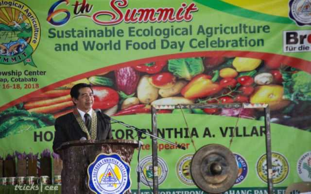 Photo by Tricks Cee - The 6th Summit for Sustainable Ecological Agriculture (SEA) and World Food Day Celebration officially commenced on October 16, 2018.