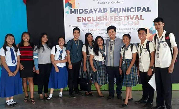 Congratulations to the following Junior and Serior HS students for winning in different events during the Municipal English Festival for Secondary Schools which competed by 19 schools held at Midsayap-Dilangalen National High School on February 11, 2019